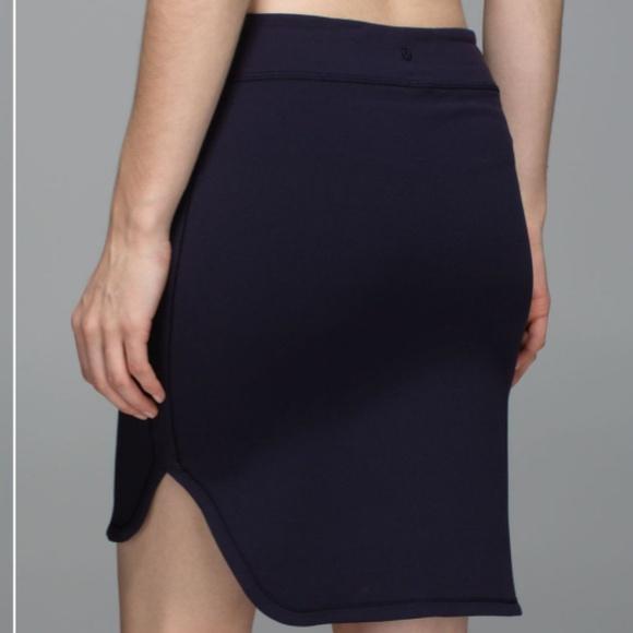 lululemon athletica Dresses & Skirts - Lululemon City Skirt Naval Blue